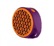 BOCINA X50 PORTATIL BLUETOOTH MORADA/NARANJA RECARGABLE - TiendaClic.mx