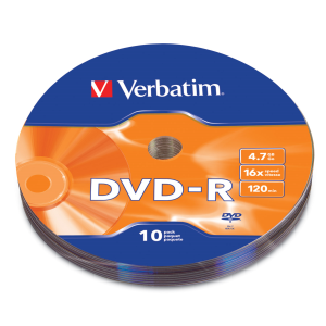 DVD R 16X 4.7GB 120MIN GRABABLE 10 PZAS PACK CALOFAN - TiendaClic.mx