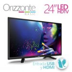 TELEVISION LED GHIA 24 PULG HD 720P 1 HDMI / USB/ VGA/PC 60 HZ - TiendaClic.mx