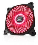 VENTILADOR EAGLE WARRIOR PARA GABINETE FAN 33/ROJO/12CM/TUBO LED/CONECTOR 4 PINES/GAMER - TiendaClic.mx