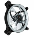 VENTILADOR EAGLE WARRIOR PARA GABINETE AURORA/BLANCO/12 CM/TUBO LED/CONECTOR 4 PINES/GAMER - TiendaClic.mx