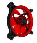 VENTILADOR EAGLE WARRIOR GAMING AURORA PARA GABINETE 12 CM/LED/ROJO - TiendaClic.mx