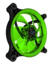 VENTILADOR EAGLE WARRIOR GAMING AURORA PARA GABINETE 12 CM/LED/VERDE - TiendaClic.mx