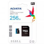 Micro SD Adata Premier V10 F HD Clase 10 A1 256 GB Color Azul - TiendaClic.mx