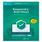 ESD KASPERSKY ANTI-VIRUS / 10 USUARIOS / 1 A?O / DESCARGA DIGITAL - TiendaClic.mx