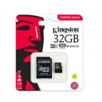 KINGSTON MEMORIA MICRO SDHC/SDXC CANVAS CL 10 UHS4 - TiendaClic.mx
