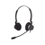 Jabra Biz 2300 Duo con cable Quick Disconnect de alta durabilidad (2309-820-105) - TiendaClic.mx