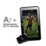 BUNDLE TABLET GHIA A7 / QUAD CORE / 1GB / 8GB / 2CAM / ANDROID 7 / NEGRA + SINTONIZADOR BASICO DE TV GHIA DISPOSITIVOS MOVILES ANDROID C / 1ANTENA LEONES NEGROS - TiendaClic.mx