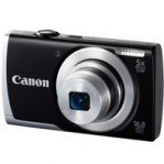 CAMARA CANON POWERSHOT A2500 16MP 5X LCD 2.7 V. HD, BAT LITIO NEGRO - TiendaClic.mx