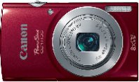 CAMARA CANON POWERSHOT ELPH 135 IS 16 MP, 8X , LCD 2.7, BAT.LITIO, ESTABILIZADOR .ROJO - TiendaClic.mx