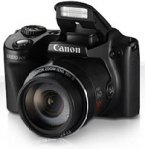 CAMARA CANON POWERSHOT SX510 IS 12.1 MP 30 X, LCD 3.0 BAT LITIO, V. FULLHD, NEGRO, WIFI - TiendaClic.mx