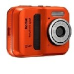 CAMARA DIGITAL KODAK C123, 12MP, LCD 2.5, ROJA, SUMERGIBLE, BOTON SHARE - TiendaClic.mx
