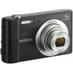 CAMARA DIGITAL SONY CYBERSHOT W800 NEGRO/20.1 MP/VIDEO HD/2.7LCD/5X/PANORAMICA 360/SENSOR CCD/ - TiendaClic.mx
