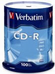 CD-R VERBATIM 80MIN 700MB 52X TORRE C/100 PZAS SPINDLE - TiendaClic.mx