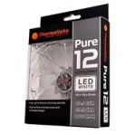 VENTILADOR THERMALTAKE PURE 12 LED BLANCO/120MM/1000 RPM/19.5 DBA - TiendaClic.mx