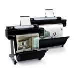 "PLOTTER HP DESIGNJET T520  24"" PS EPRINTER / 4 TINTAS  - TiendaClic.mx"