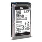 DISCO DURO WD BLACK 2.5 1TB SATA3 6GB/S 32MB 7200 RPM 9.5MM P/NOTEBOOK DE ALTO RENDIMIENTO - TiendaClic.mx