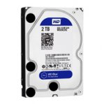 DISCO DURO WD BLUE 3.5 2TB SATA3 6GB/S 64MB 5400RPM P/PC COMP BASICO - TiendaClic.mx