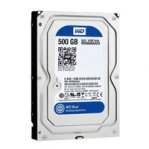 DISCO DURO WD BLUE 3.5 500GB SATA3 6GB/S 32MB 7200RPM P/PC COMP BASICO - TiendaClic.mx