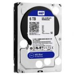 DISCO DURO WD BLUE 3.5 6TB SATA3 6GB/S 64MB 5400RPM P/PC COMP BASICO - TiendaClic.mx