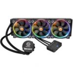 ENFRIAMIENTO LIQUIDO THERMALTAKE WATER 3.0 RIING RGB 360 INTEL 1150/1151/2011/2011V3 AMD AM4/FM2/AM3 LUZ LED PERSONALIZADO 256 COLORES PC/GAMER - TiendaClic.mx