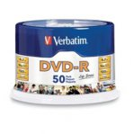 DVD-R VERBATIM 4.7GB 16X LIFE SERIES TORRE C/50 PZAS SPINDLE - TiendaClic.mx