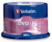 DVD+R VERBATIM 4.7GB 16X LIFE SERIES TORRE C/50 PZAS SPINDLE - TiendaClic.mx