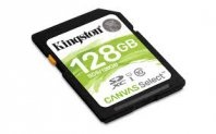 MEMORIA SD KINGSTON CLASE10 SDHC Canvas Select 80R CL10UHS-I(SDS/128GB - TiendaClic.mx