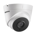 Turret TURBOHD 5 Megapixel / Gran Angular / Lente 2.8 mm / 40 mts Smart IR / IP67 / Tecnología 4 en 1 - TiendaClic.mx