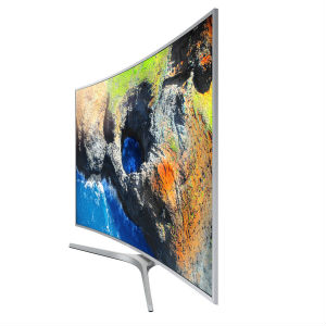 "TV SAMSUNG 55"" SMART TV 4K CURVA - TiendaClic.mx"
