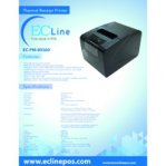 EC LINE MONI PRINTER TERMICA / USB/ ETHERNET/ PARALELO/ 300MM/S  /   NEGRA - TiendaClic.mx