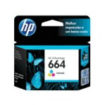 CARTUCHO DE TINTA HP 664 TRICOLOR HASTA 100 PAGINAS F6V28AL - TiendaClic.mx