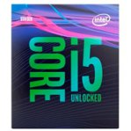CPU INTEL CORE I5-9600K S-1151 9A GEN 3.7 GHZ 9MB 6 CORES GRAFICOS HD INTEL 630 PC / GAMER ITP - TiendaClic.mx