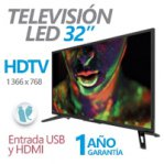 "GHIA TELEVISION LED/ 32""/ G32DHDX /HD - TiendaClic.mx"