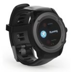 GHIA SMART WATCH DRACO /1.3 TOUCH/ HEART RATE/ BT/ GPS/ GAC-071 / COLOR NEGRO - TiendaClic.mx