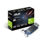 Tarjeta de Video  ASUS PCIE 2.0 NVIDIA GEFORCE GT710/2GB/GDDR5/ESTANDAR  Y BAJO PERFIL/VGA+DVI+HDMI/PC - TiendaClic.mx