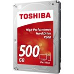 DD INTERNO TOSHIBA P300 3.5 500GB/SATA3/6GB/S/CACHE 64MB/7200RPM/P/PC - TiendaClic.mx