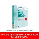 KASPERSKY SMALL OFFICE SECURITY 10+1 1YR - TiendaClic.mx