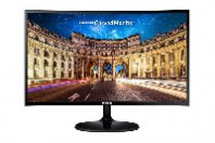 MONITOR LED SAMSUNG 27, WIDESCREEN, FULL HD 1920X1080, LC27F390FHLSZD, NEGRO, D-SUB, HDMI, CURVO - TiendaClic.mx