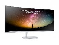 MONITOR LED SAMSUNG 34 WIDESCREEN WQHD / 2 HDMI / 1 DISP PORTCURVO / BLANCO - TiendaClic.mx