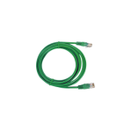 Cable de parcheo UTP Cat6 - 7 m ( 22.96 ft ) - verde - TiendaClic.mx