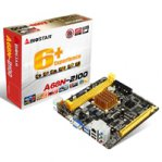 MB BIOSTAR A68N-2100 CPU INTEGRADO AMD E1-2100/2X DDR3 1333/VGA/HDMI/2X USB 3.0/MINI ITX/PC - TiendaClic.mx