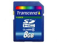 MEMORIA CARD SD HIGH CAPACITY 8 GB TRANSCEND - TiendaClic.mx