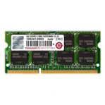 MEMORIA SODIMM DDR3 2 GB PC1066 MHZ CL7 TRANSCEND - TiendaClic.mx