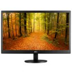 MONITOR LED AOC 21.5 WIDESCREEN NEGRO, VGA E2270SWN - TiendaClic.mx