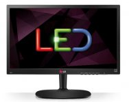 MONITOR LED LG 18.5 WIDESCREEN NEGRO RES 1366 X 768 TR 5MS, VGA CONS 13W - TiendaClic.mx