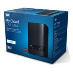 NAS WD MY CLOUD EX2 ULTRA 8TB/CON 2 DISCOS DE 4TB/2BAHIAS/1.3GHZ/1GB/1ETHERNET/2USB3.0/RAID 0-1 - TiendaClic.mx