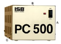 REGULADOR SOLA BASIC ISB PC 500 FERRORESONANTE 500VA / 400W 4 CONTACTOS COLOR BEIGE - TiendaClic.mx