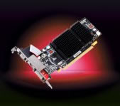 Tarjeta de Video  PCIE RADEON HD4350 512MB/64BIT DDR2 VGA/D-DVI - TiendaClic.mx