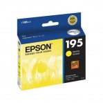 CARTUCHO EPSON  T195 AMARILLO PARA XP-201/101/211 4ML (T195420-AL) - TiendaClic.mx